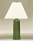 Frank Lloyd Wright Dana Sumac Table Lamp Green