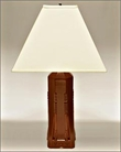 Frank Lloyd Wright Dana Sumac Table Lamp Cayenne