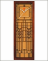 Frank Lloyd Wright De Rhodes Wall Clock