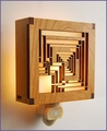 Frank Lloyd Wright Ennis House Night Light
