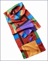 Frank Lloyd Wright H. Price Silk Scarf 1