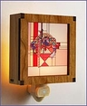 Frank Lloyd Wright Hardwood May Basket Night Light
