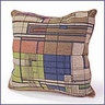 Frank Lloyd Wright Hillside Rug Tapestry Pillow