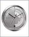 Frank Lloyd Wright Hoffman Rug Wall Clock