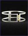 Frank Lloyd Wright Home and Studio Sterling Silver Bracelet