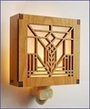 Frank Lloyd Wright Lake Geneva Night Light