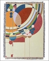Frank Lloyd Wright March Balloons Tapestry Throw