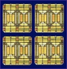 Frank Lloyd Wright Oak Park Skylight Coasters
