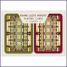 Frank Lloyd Wright Oak Park Skylight Design Playing Cards