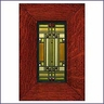 Frank Lloyd Wright Oak Park Skylight Framed Tile