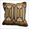 Frank Lloyd Wright Oak Park Skylight Tapestry Pillow