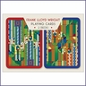 Frank Lloyd Wright Saguaro Design Playing Cards