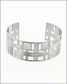 Frank Lloyd Wright Willits Skylight Cuff Bracelet 3