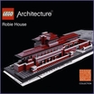 LEGO Architecture Frank Lloyd Wright Robie House