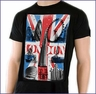 London Sky Architecture Black T-Shirt