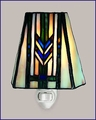 Mission Stained Glass Night Light 1330