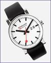 Mondaine Big Case Swiss Railway Watch