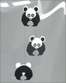 Panda Bear Mobile by Livingly