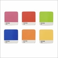 Pantone Coasters Mixed Set of 6