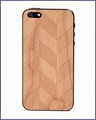 Prairie Chevron iPhone 4/4S Skin Cherry in Natural