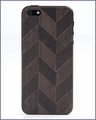 Prairie Chevron iPhone 5 Skin Cherry in Black