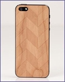 Prairie Chevron iPhone 5 Skin Cherry in Natural