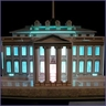 White House 3D Puzzle with LED Lights - 56 Pieces