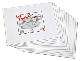 Fredrix 12x16 Canvas Panels (Box of 3 Dozen) - Click to enlarge