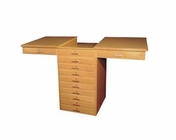 2 Station Art/Drafting Table - 2 piece fixed top