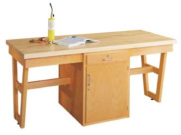 "2 Station Art/Drafting Table - 30"" adjustable"