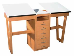 2 Station Art/Drafting Table - adjustable