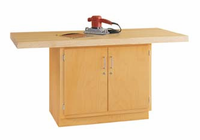 2-Station Workbench w/0 vises-24 Wt-75/115