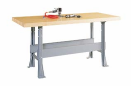 2-Station Workbench w/0 vises (Quick Ship)-11