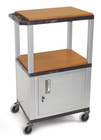 "26""H-42""H Boardroom TUFFY CART w/Cabinet"
