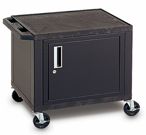 "26""H TUFFY CART w/ Cabinet"