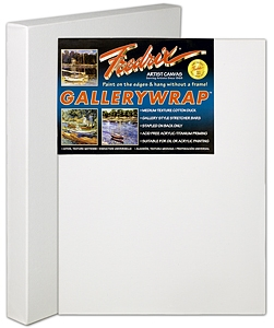 "36""x48"" Fredrix GALLERYWRAP Artist Canvas - BOX OF 3"