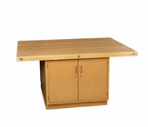 4-Station Workbench w/0 vises-50 Wt-150/220