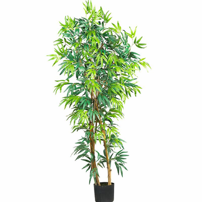 Nearly Natural 5' Fancy Style Bamboo Silk Tree