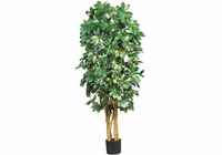 Nearly Natural 5' Schefflera Silk Tree