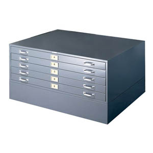 50X38 STACKABLE 5-DRAWER BALL BEARING FLAT FILES