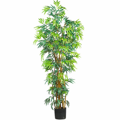 Nearly Natural 6' Fancy Style Bamboo Silk Tree