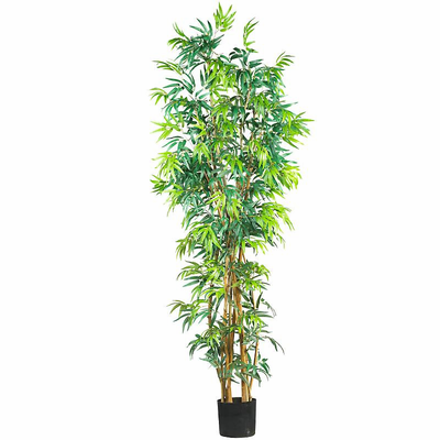 Nearly Natural 7' Fancy Style Bamboo Silk Tree