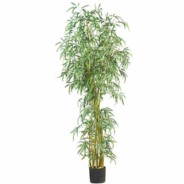 7' Fancy Style Slim Bamboo Silk Tree