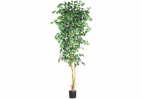 Nearly Natural 7' Ficus Silk Tree