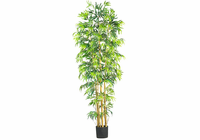 Nearly Natural 7' Multi Bambusa Bamboo Silk Tree