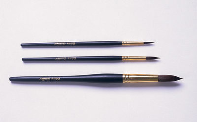 7000 Quiller Round Series (Set of 4 brushes - Sizes 0, 2, 4 and 6) - Click to enlarge