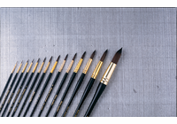 7000 Quiller Round Series (Set of 4 brushes - Sizes 0, 2, 4 and 6)