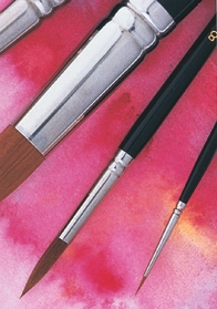9000 series Sizes 5 and 8 round brushes (2 pc.)