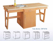 A-Frame and Three Drawer Cabinet 60�x30�-Maple