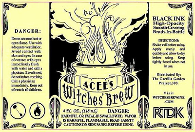 Acce's WITCHES' BREW INK - Click to enlarge
